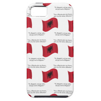 Albanian Flag and Motto iPhone 5 Covers