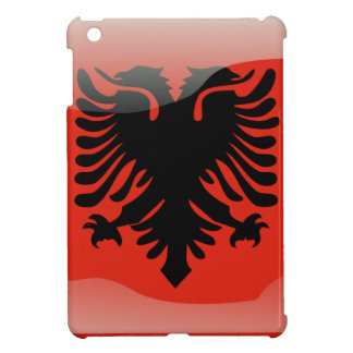 Albanian glossy flag case for the iPad mini