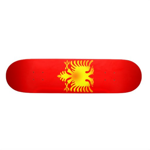 Albanian Golden Eagle Flag Skateboard Decks