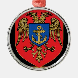 Albanian Naval Forces - Forcat Detare Metal Ornament