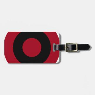 Albanian Roundel Luggage Tag