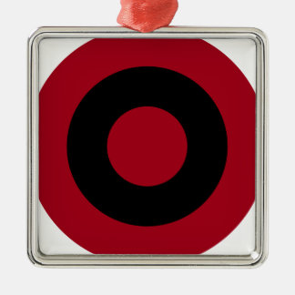 Albanian Roundel Metal Ornament