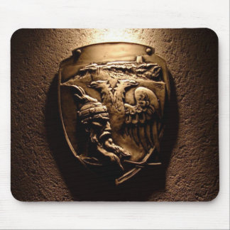 Albanian Shield Mouse Pad