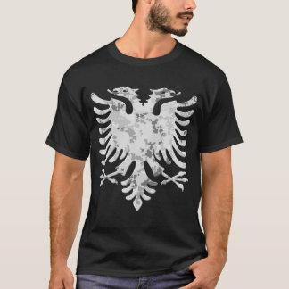 Albanian Snow Camo Eagle 3D T-Shirt