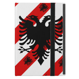 Albanian stripes flag case for iPad mini