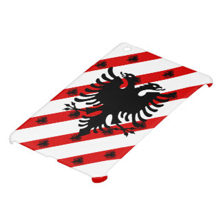 Albanian stripes flag iPad mini cover