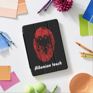 Albanian touch fingerprint flag iPad air cover