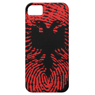 Albanian touch fingerprint flag iPhone 5 case