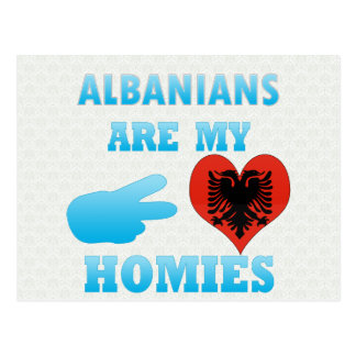 Albanians are my Homies Postcard