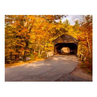 Albany Covered Bridge Near Conway Postcard