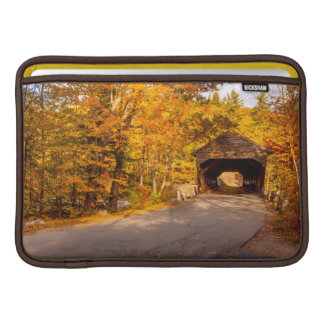 Albany Covered Bridge Near Conway Sleeves For MacBook Air