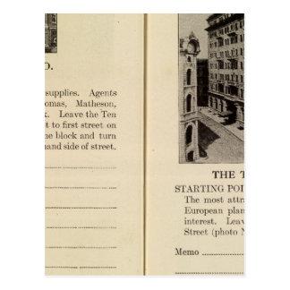 Albany Garage The Ten Eyck Postcard