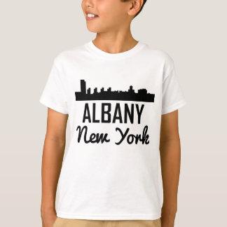 Albany New York Skyline T-Shirt
