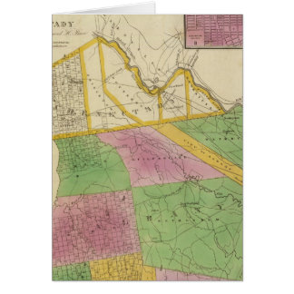 Albany, Schenectady counties Card