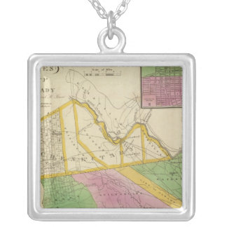 Albany, Schenectady counties Silver Plated Necklace