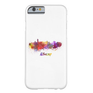 Albany skyline in watercolor barely there iPhone 6 case