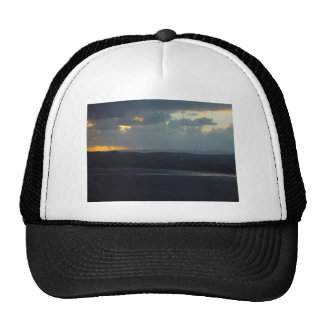 Albany Wind-Farm Against The Sunset, Western Austr Trucker Hat