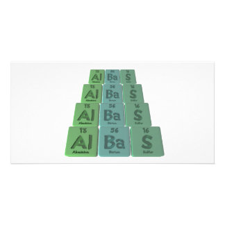 Albas-Al-Ba-S-Aluminium-Barium-Sulfur Photo Cards