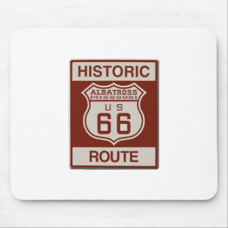 Albatross Route Sixty Six Mouse Pad