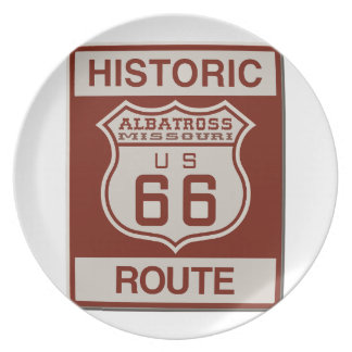 Albatross Route Sixty Six Plate