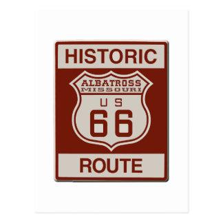 Albatross Route Sixty Six Postcard
