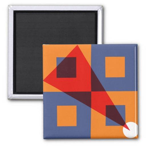 Albers & Lissitzky Refrigerator Magnet