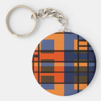 Albers & Mondrian Keychains