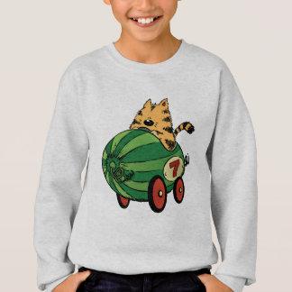 Albert and his watermelon ride sweatshirt