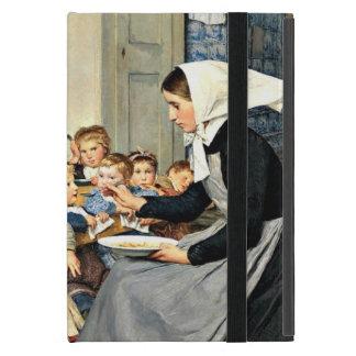 Albert Anker - The Nursery (Creche) iPad Mini Case