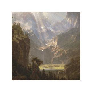 Albert Bierstadt, American Canvas Print