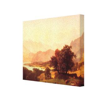 Albert Bierstadt Bernese Alps 1859 Canvas Prints