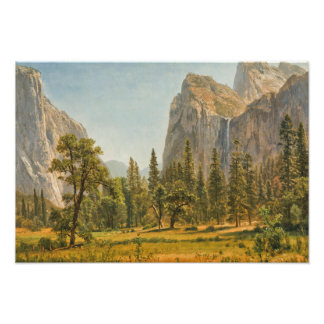Albert Bierstadt - Bridal Veil Falls, Yosemite Photo