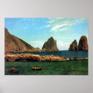 Albert Bierstadt-Capri Poster