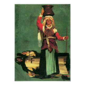 Albert Bierstadt-Italian costume studies Posters
