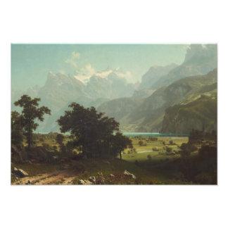 Albert Bierstadt - Lake Lucerne Photo