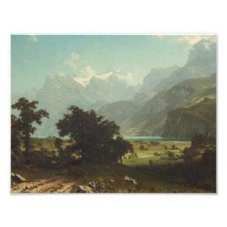 Albert Bierstadt - Lake Lucerne Photograph