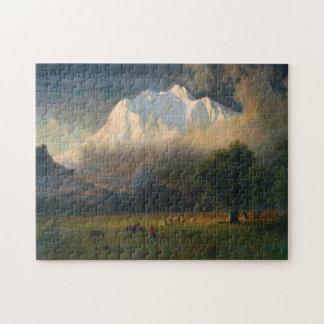 albert bierstadt - mount adams washington jigsaw puzzle