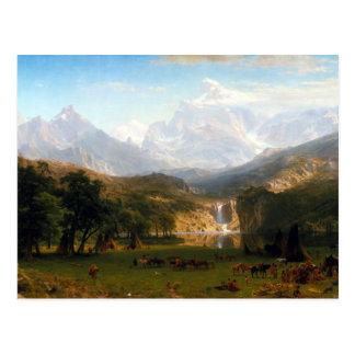 Albert Bierstadt The Rocky Mountains Lander's Peak Postcard