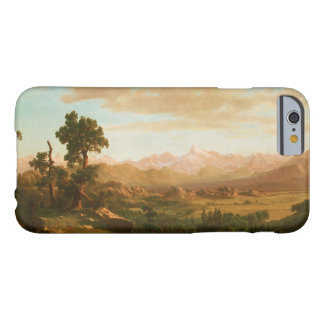 Albert Bierstadt - Wind River Country Barely There iPhone 6 Case