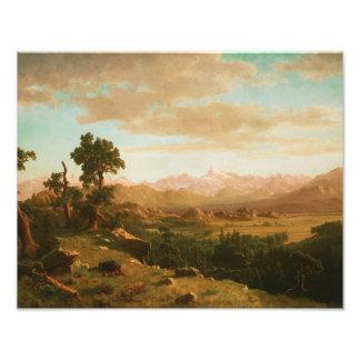 Albert Bierstadt - Wind River Country Photographic Print