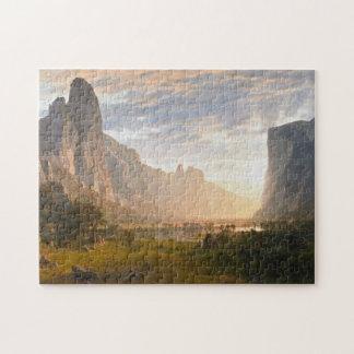 albert bierstadt - yosemite valley art painting jigsaw puzzle