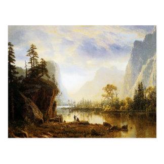 Albert Bierstadt Yosemite Valley Postcard