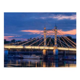 Albert Bridge Postcard