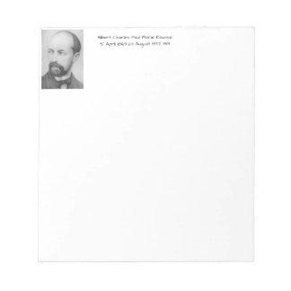 Albert Charles Paul Marie Roussel 1913 Notepad