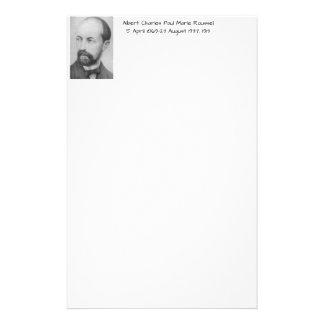 Albert Charles Paul Marie Roussel 1913 Stationery