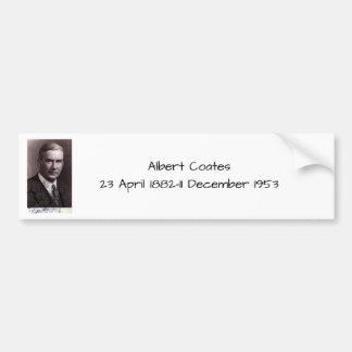 Albert Coates Bumper Sticker