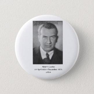 Albert Coates c1924 6 Cm Round Badge