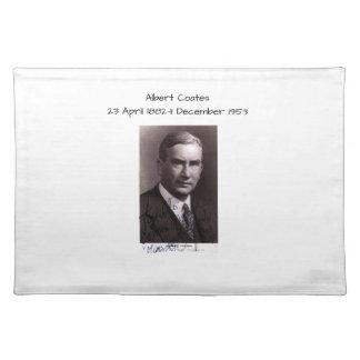 Albert Coates Placemat