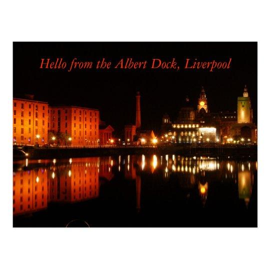 Albert dock, Hello from the Albert Dock, Liverpool Postcard