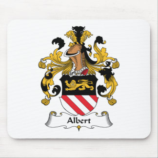 Albert Family Crest Mouse Pad